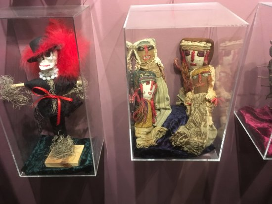 some of the 'poppets' or voodoo dolls - Picture of The