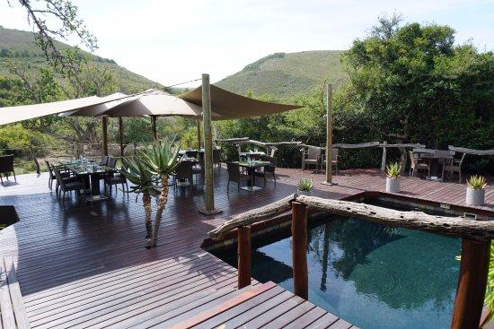 Shamwari Game Reserve Lodges: Bayethe Lodge - Área de café da manhã e almoço
