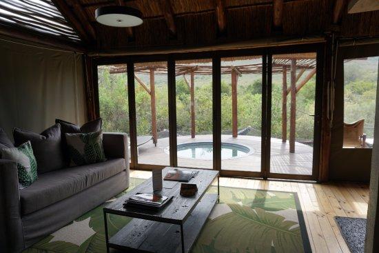 Shamwari Game Reserve Lodges: Bayethe Lodge - Vista do quarto