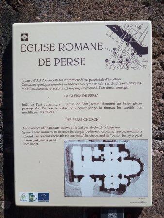 Espalion, Francia: Eglise de Perse