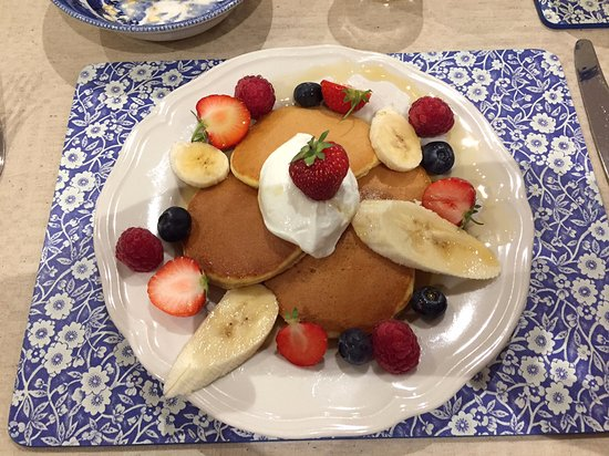 Yetholm, UK: Breakfast