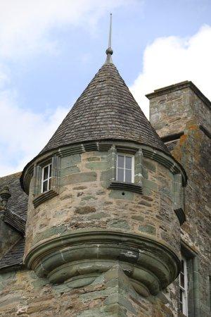 Weem, UK : Castle Menzies