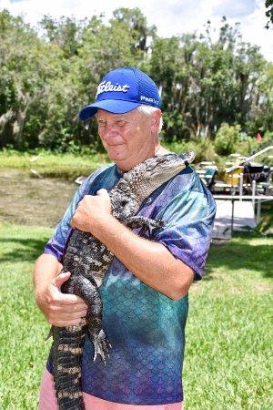 Lake Panasoffkee, FL: Her grandfather...