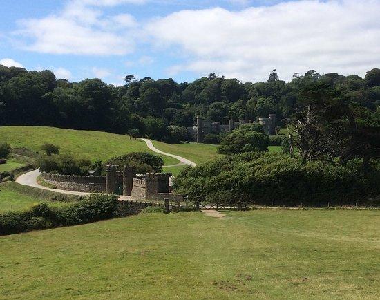 Caerhays Castle.