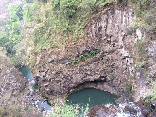 Cascada Escondida Zambrano, Honduras