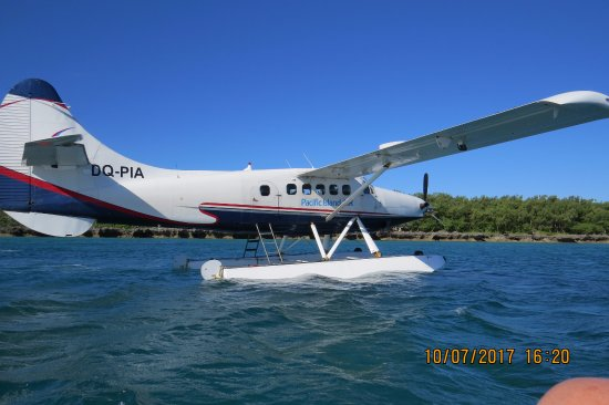 Yasawa Islands, Fiji: The seaplane is a great way to arrive and depart