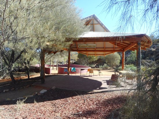 Olive Pink Botanic Garden One Of The Outdoor Covered Areas