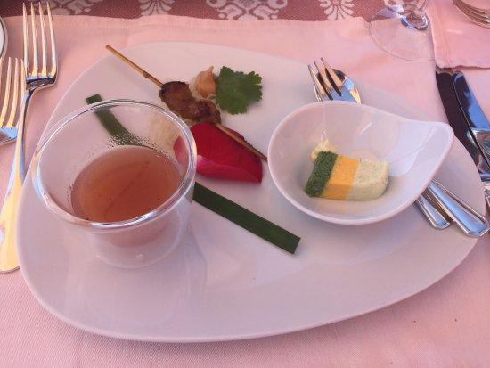 Hotel Bergsonne: Menu Mittag