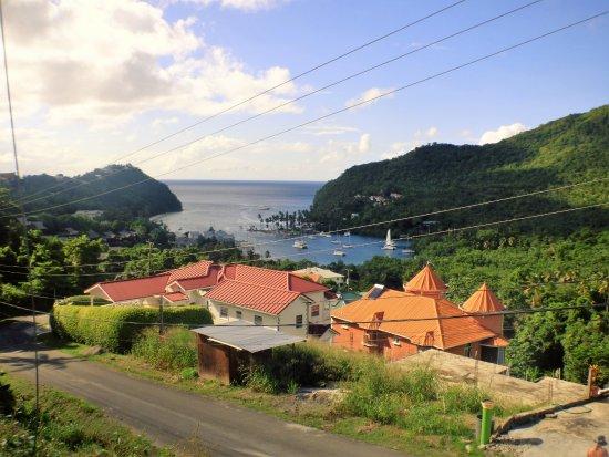 Sta. Lucía: St Lucian Bay view