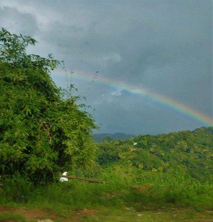 Sta. Lucía: Rainbow in St Lucia