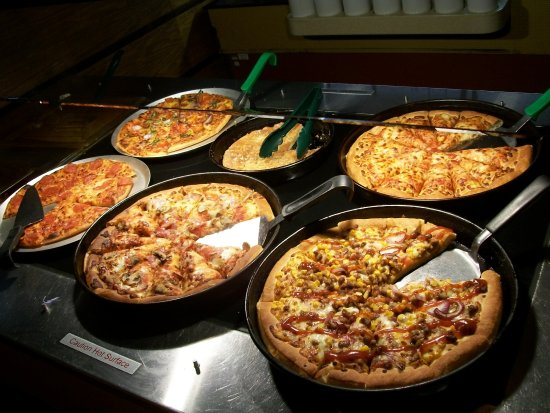 Pizza Hutt Buffet Picture Of Pizza Hut London Tripadvisor