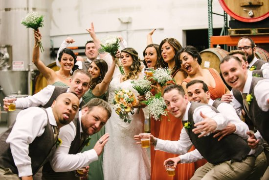Elmsford, Nowy Jork: A wedding at the brewery