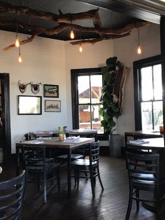 Schulenburg, Teksas: Garden Company dining room