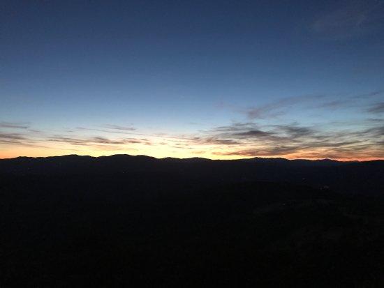 Preggio, Italy: La terrazza e particolati del tramonto