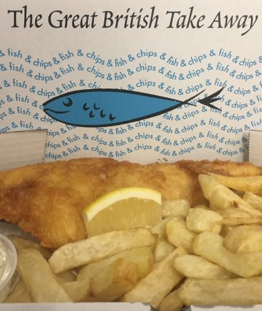 New Romney, UK: Fish & Peri Takeaway