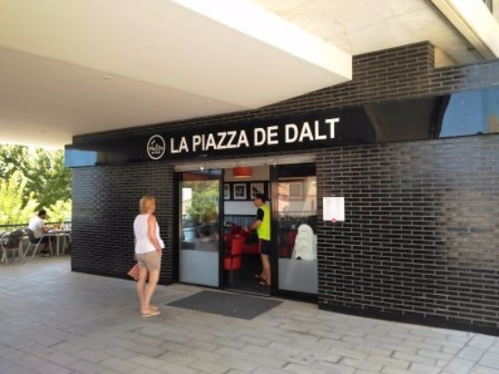 Premia de Dalt, Espanha: Entrada restaurante