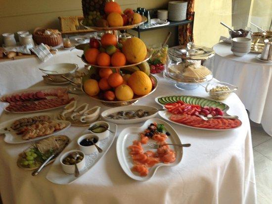 Boutique Hotel Grotthuss: Завтрак! Очень вкусный мёд в сотах