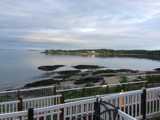 Pocologan, Canada: À la tombée de la nuit , depuis la terrasse