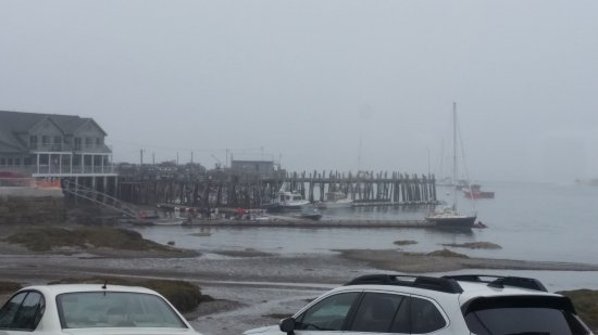 Stonington, ME: View from the window of Harbor cafe