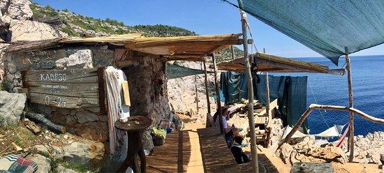 Mljet Island, Kroasia: Odysseus Cave