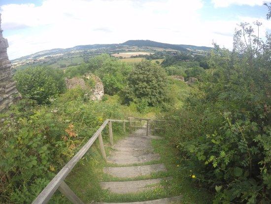 Графство Херефордшир, UK: Stairs to the top.