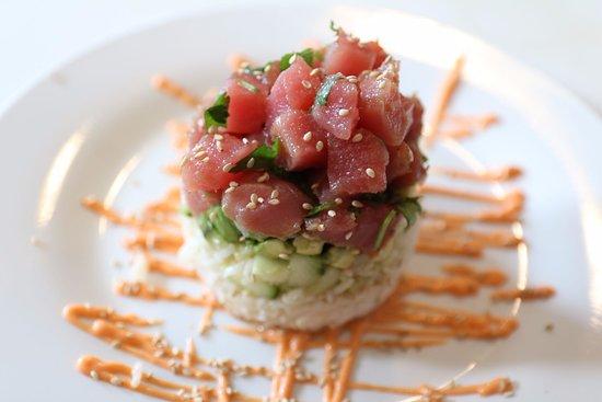 Mount Vernon, TX: Tuna Tartare