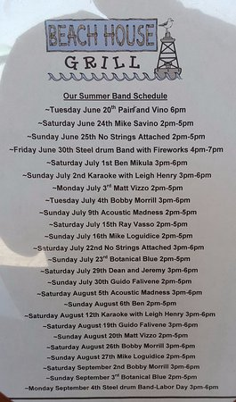 Stratford, CT: Band Schedule