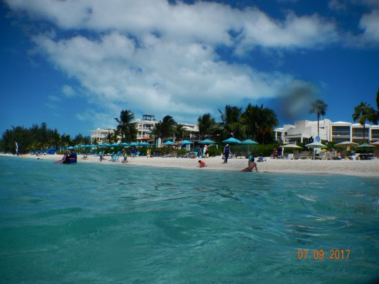 Royal West Indies Resort: view from the water