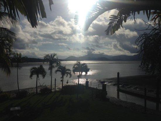 Lucinda, Australien: View from room 24.