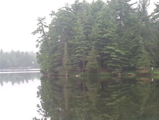 Maberly, Canada: Silver Lake; stopped to view & wrote a poem;