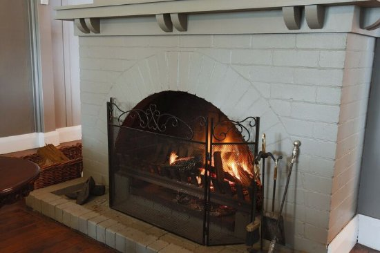 Cosy Up To Our Open Fireplace