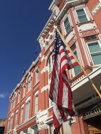 Strater Hotel: Beautiful Strater on the 4th of July