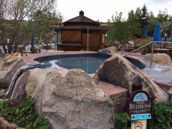 The Springs Resort & Spa: Boulder soaking tub