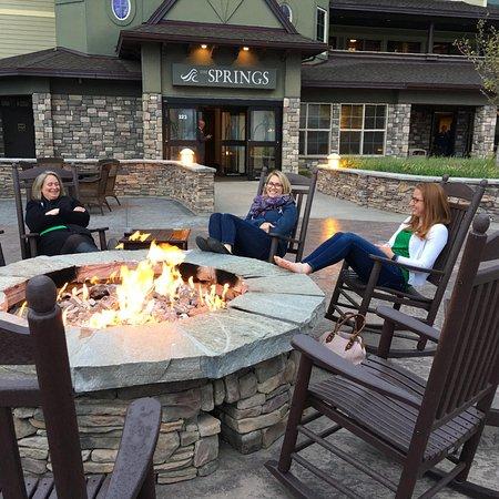 The Springs Resort U0026 Spa: Luxury Building Patio Firepit