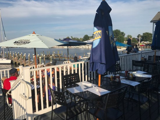 Lighthouse Restaurant and Dock Bar: Inside and outside the Lighthouse!!
