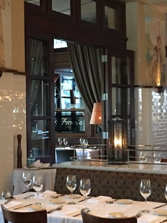 Il Fornaio: Ambiance is classic