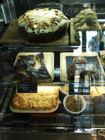 Rangiora, Nya Zeeland: Sweet or savoury? Choose anything and it will be very yummy!