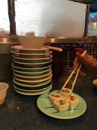 Lynnwood, واشنطن: cheap sushi