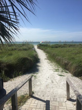 Sanibel Siesta on the Beach: Close Walk to beach