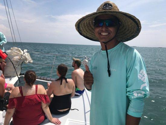 Herradura, Costa Rica: Ismael - our first mate