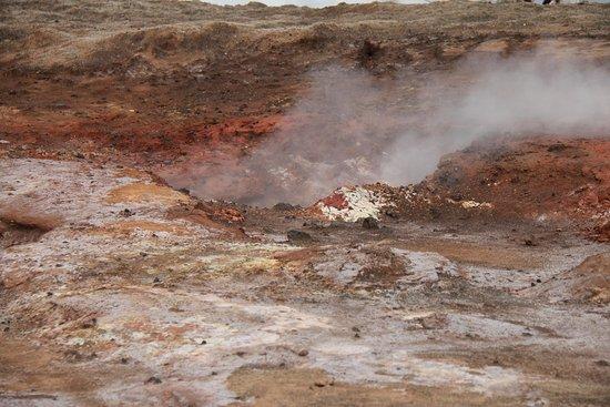 Grindavik, Iceland: Gunnuhver Hot Springs