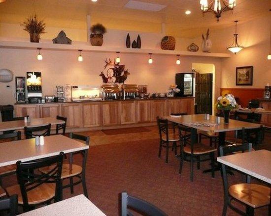 Trails End Motel Sheridan: Breakfastarea