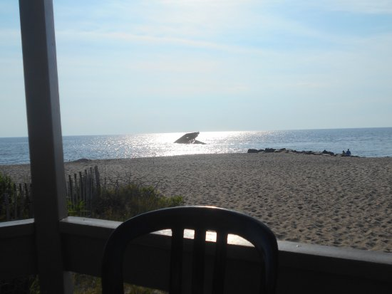 Cape May Point, NJ : View from the deck