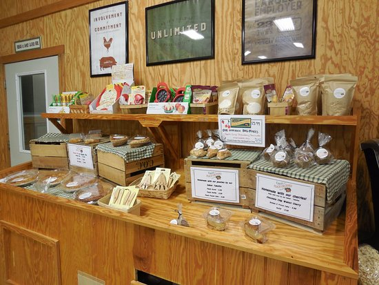 Crozet, VA: Homemade treats and assorted items of interest.