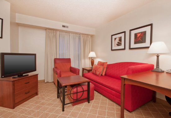 West Springfield, MA: One-Bedroom Suite - Living Area