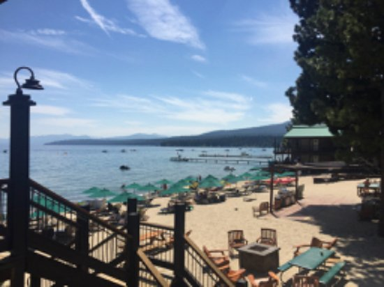 Tahoe Vista, CA: View from deck off room