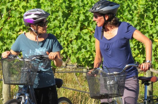 Visite guidée à vélo de la région...