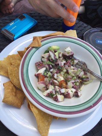 Secrets Maroma Beach Riviera Cancun: Ceviche at Seaside Grill