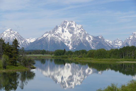 Ana's Grand Excursions: Reflection of Mount Moran