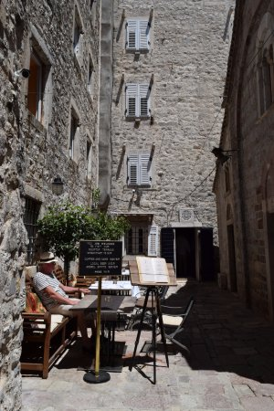 Boutique Hotel Hippocampus: Breakfast outside
